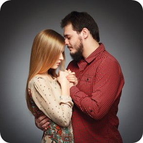 Love match couple